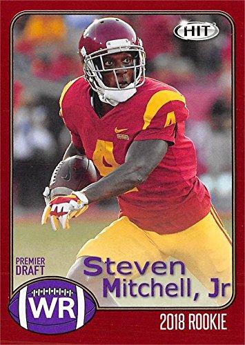 brand new 22f4a 8eb28 Steven Mitchell Jr. Football Card (USC Trojans) 2018 SAGE ...