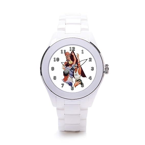 hiyane Funky relojes Vintage atletas blanco/plateado