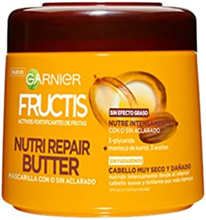 Garnier Fructis Mascarilla Nutri Repair Butter - 300 ml - [pack de 2]