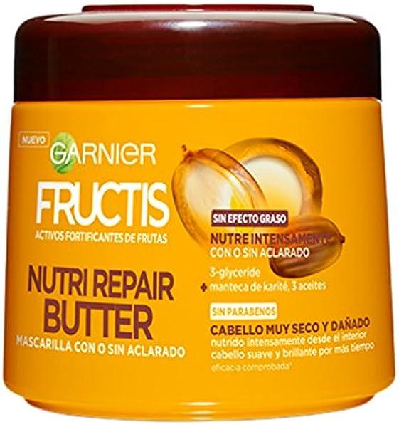 Garnier Fructis Mascarilla Nutri Repair Butter - 300 ml ...