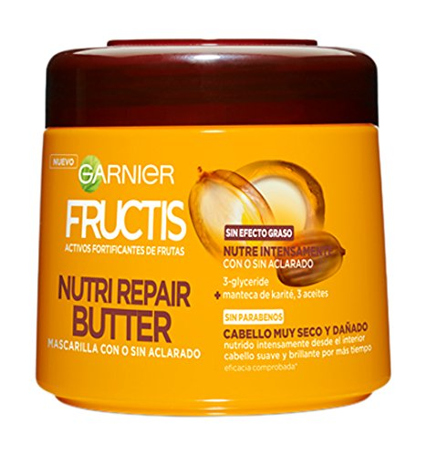 Garnier Fructis Mascarilla Nutri Repair Butter - 300 ml - [pack de 2] product