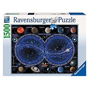 Ravensburger 16373 Puzzle Planisfero Celeste 1500 Pezzi