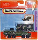 """2011 Matchbox 4"""" Real Working Rigs Die-Cast, (Army Green Camoflauge) OSHKOSH HEMTT A4 (Heavy Expanded Mobility Tactical Truck)"""