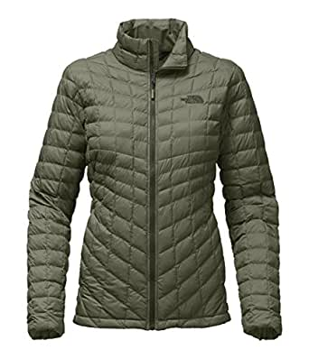 The North Face Women's Thermoball Full Zip Jacket Deep Lichen Green Matte - XS
