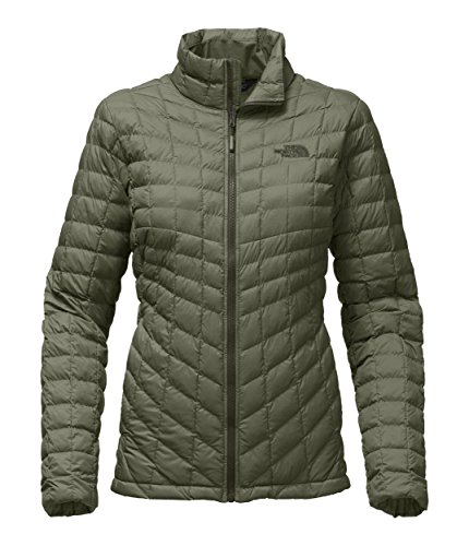 0c214c2734 The North Face Womens Thermoball Full Zip Jacket Deep Lichen Green Matte -  XXL by The