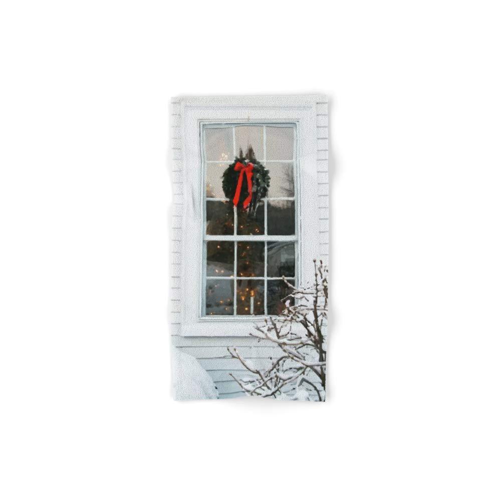 Society6 Bath Towel, 30'' x 15'', Window by andreeea