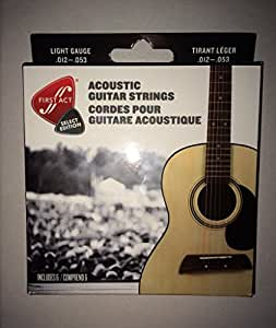 first act acoustic guitar strings light gauge 012 053 musical instruments. Black Bedroom Furniture Sets. Home Design Ideas