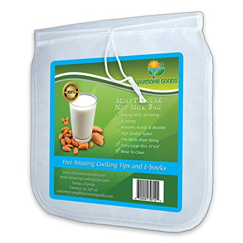 Nut-Milk-Bag-Best-Reusable-Filter-Strainer-for-Almond-Milk-Juice-Cold-Brew-Coffee-Bonus-Tips-and-Recipes-3-sizes