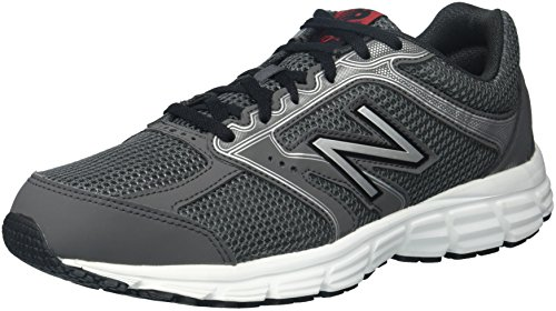New Balance Men s 460v2 Cushioning Running Shoe, Dark Grey Silver, 10 D US