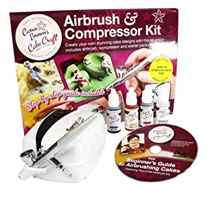 Cassie Brown Cake Decorating Airbrush Kit : Cassie Brown Cake Craft Cake Decorating Airbrush and ...