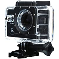 SANNYSIS Waterproof Case 1080P 4K WIFI Mini Action Cam HD DV Sports Recorder Camera Black