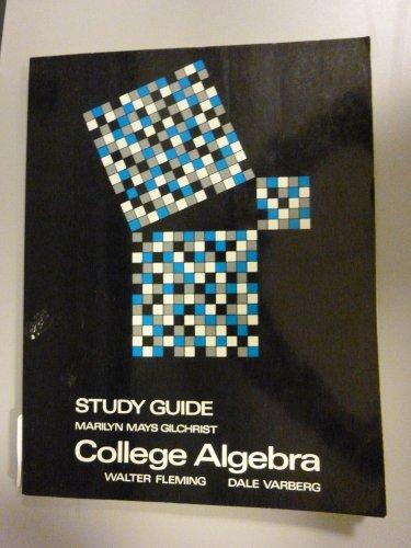 Study Guide College Algebra