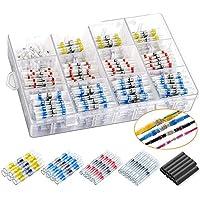 Kabelverbinder, soldeerverbinder, solderconnectorset, krimpverbinders met gemengde soldeermof, waterdichte, geïsoleerde…