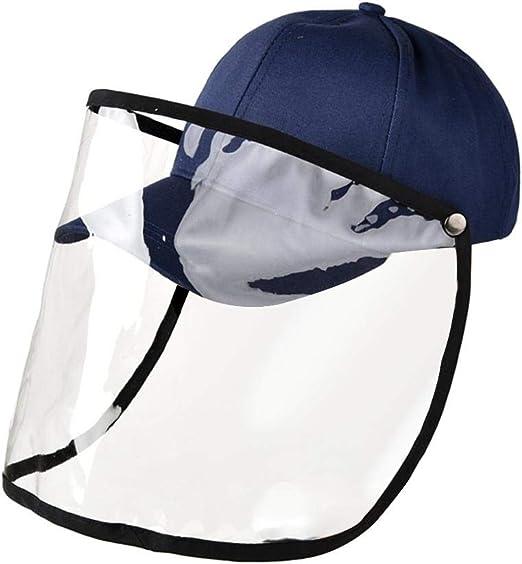 heling896 Sombreros Protectores, Anti-Escupir Y Saliva Máscara ...