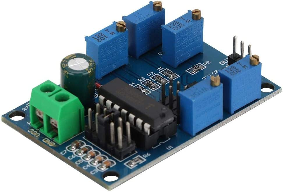 Module g/én/érateur de signaux ICL8038 Moyenne//Basse Fr/équence Sinus//Triangulaire//Rectangulaire Outbit G/én/érateur de signaux