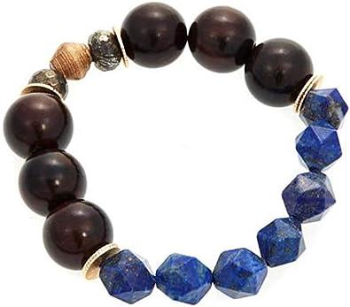 Gift Bracelet for women Bead necklace for woman Woman bead bracelet Lapis blue bead bracelet Lapis Lazuli bead bracelet Yoga jewelry