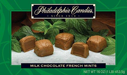 Philadelphia Candies Milk Chocolate French Mint Truffles Net Wt 1 lb (Best Chocolate In Philadelphia)
