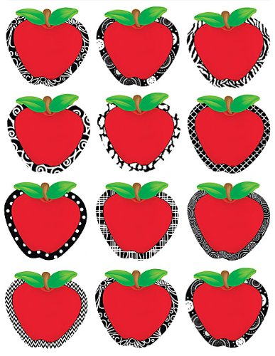 Teacher Created Resources Fancy Apples Accents ()