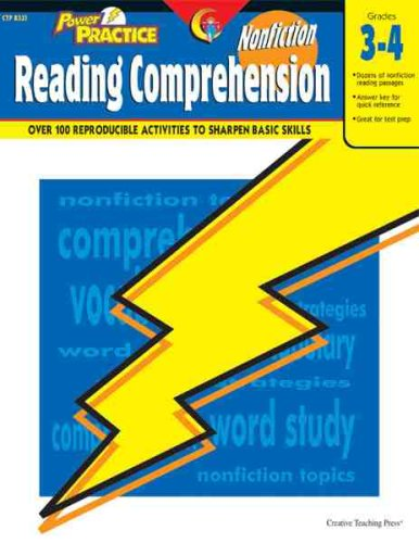 Read Online Nonfiction Reading Comprehension, Gr. 3-4 (Power Practice) pdf epub