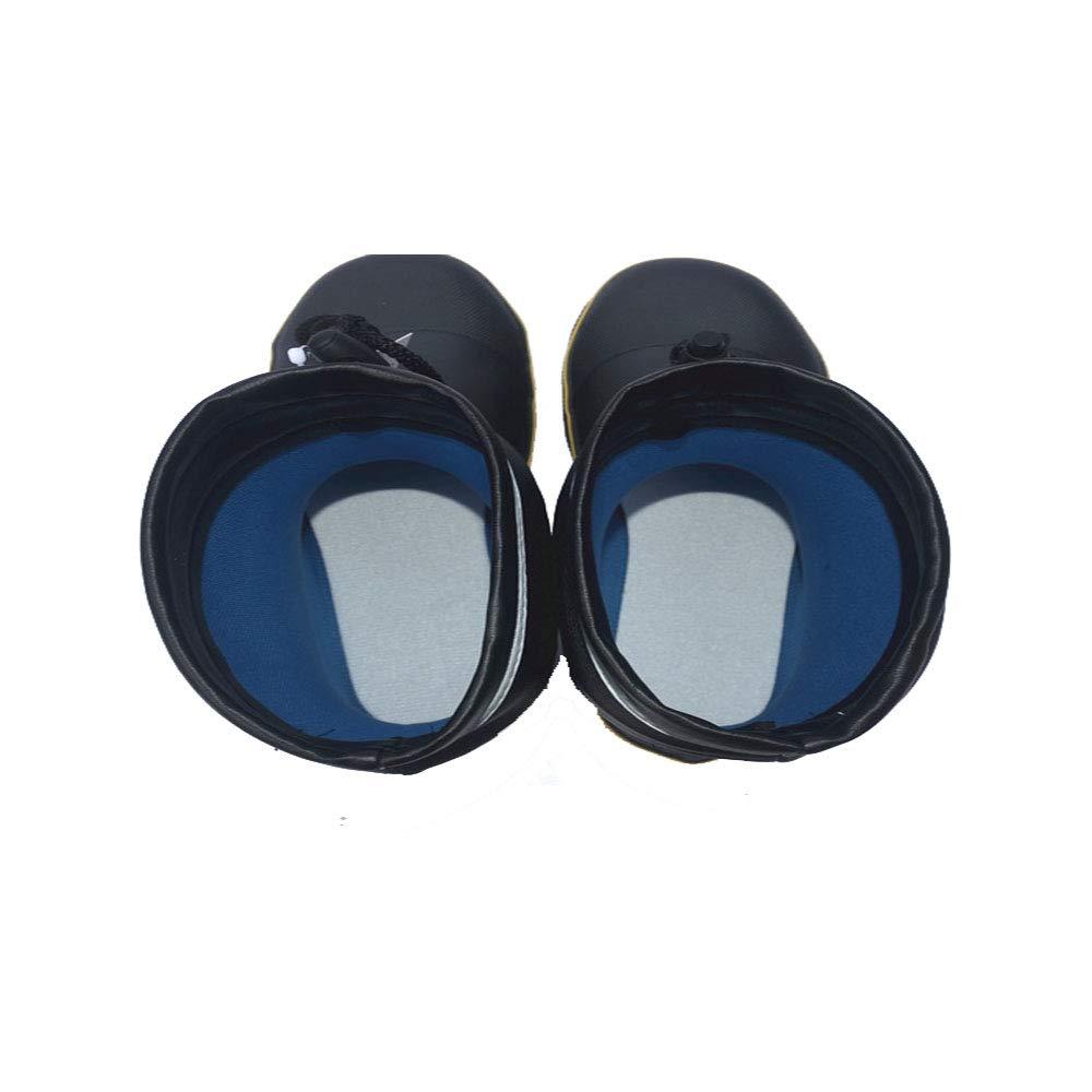 Regenschuhe Regenschuhe Regenschuhe für Herren Sicherheits-Stiefel der Männer Stich-Besteändiger Stahl-Stahlunterseiten-Gummistiefel-Medium Schlauch-Regen-Aufladungs-Fischen-Schuhe Schneestiefel für Männer ( Größe   38 EU ) ce9405