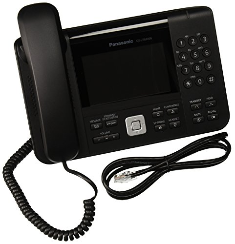 Panasonic KX-UTG300B Sip Phone with HD Voice and Full Duplex Speakerphone