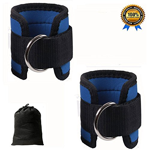 Styleincart Ankle Straps Adjustable Fit Ankle Cuff Strap for Cable Machines for Butt and Leg Weights Exercises, Men…