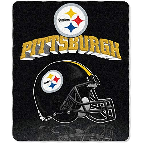 SLW Pittsburgh Steelers Fleece Throw Blanket, 50
