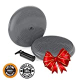 Cyber Week Sale :: Stability Balance Disk :: Best Bumpy Chair Cushion Seating Disc :: Wobble / Wiggle Air Seat Disks for Kids in Classroom :: Top Adults Core Strength Training and Exercise