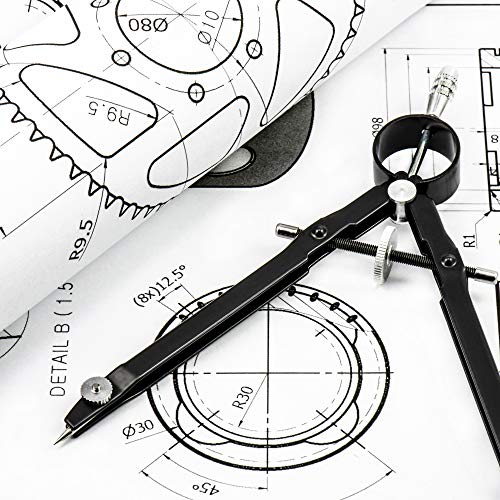 Professional Bow Compass For Geometry Math Drawing Drafting