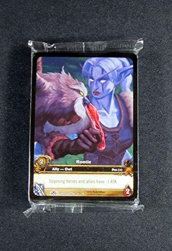 (25) World of Warcraft WoW TCG Hootie Dark Portal Promo Extended Art Ally - Pet