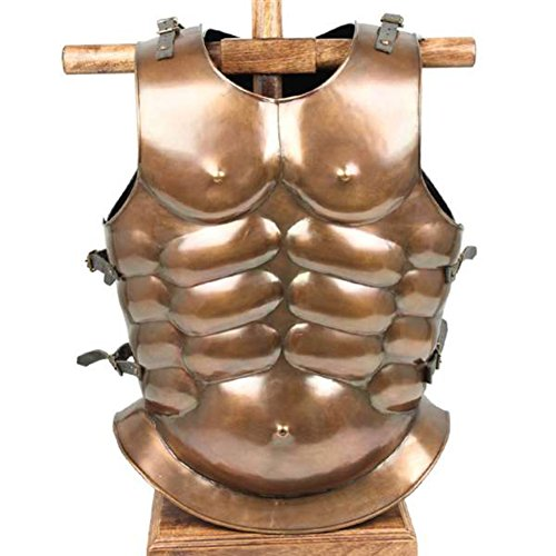 scle Armor Cuirass - Brass Finish Brass One Size ()