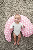 Dr. Brown's Gia Pillow Cover, Pink Chevron