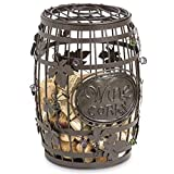 Epic Products Cork Cage Wine Barrel, 9.75-Inch