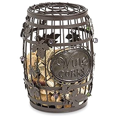 Wine Barrel Cork Cage