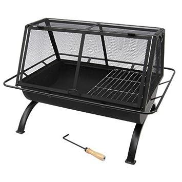 Amazon.com : Landmann USA 28305 Northwoods Outdoor Fireplace ...