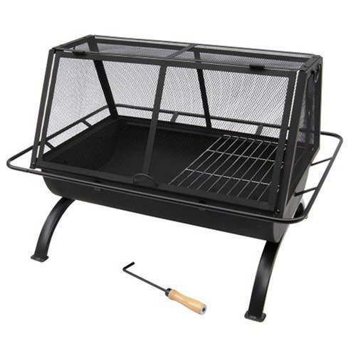 Landmann USA 28305 Northwoods Outdoor Fireplace (Fireplace Outdoor Grates)