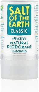 Sal de tierra, desodorante natural de 90 g, por Crystal Spring