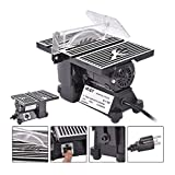 New 4'' Mini Electric Table Saw Tablesaw 8500 RPM Hobby And Craft Power Tools