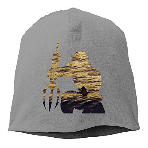 [YUVIA Aquaman Men's&Women's Patch Beanie Hip-HopDeepHeather Hats For Autumn And Winter] (Aquaman Halloween Costumes)