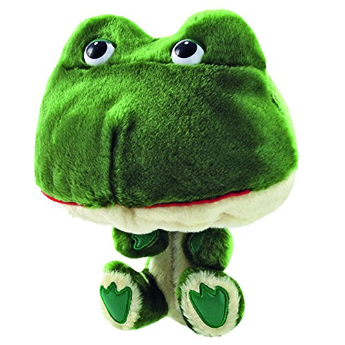 ProActive Sports Zoo Animals Plush Frog Club Hugger 460 cc Golf Club Headcover (Golf Headcover Frog)