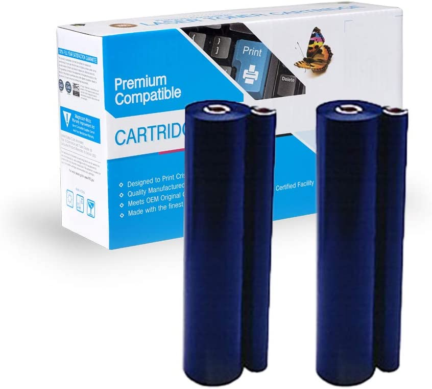 Refill Rolls for PC-201 Works with On-Site Laser Compatible TTR Replacement for PC-202RF Box of 2
