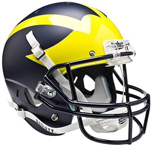Schutt AiR XP Full-Size REPLICA Football Helmet (MATTE NAVY BLUE) ()