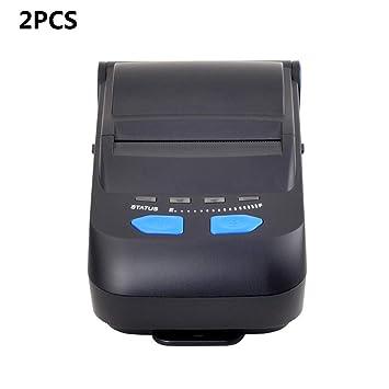 ZUKN Mini Impresora Térmica Portátil De 58 Mm con Interfaz ...