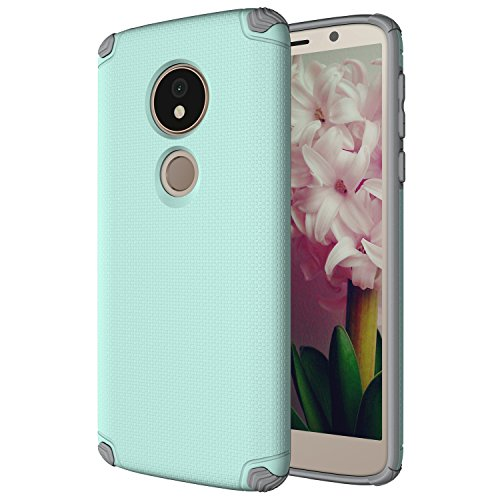 Moto G6 Play Case, Motorola G6 Play Case, CaseTank Non-Slip Shock-Absorptio Lightweight Durable Texture Protective Case Cover For Motorola Moto GG (Moto G 6th Generation), Mint