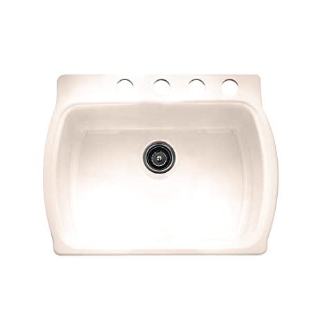 American Standard 7162.804.021 Chandler Americast Single Bowl Kitchen Sink  With Self Rimming/