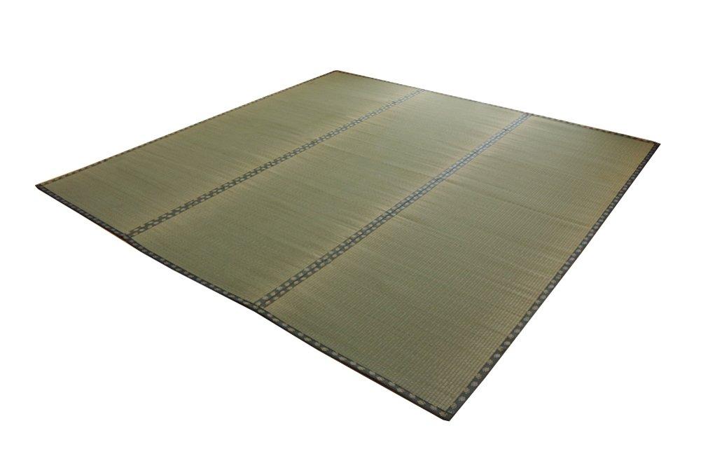イケヒコ い草 上敷き カーペット 8畳 国産 双目織 『松』 三六間8畳 (約364×364cm) B004XG5VK6  364×364cm