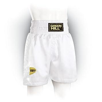 8064f674b6e87c Green Hill Boxing Short Iron (White Small): Amazon.de: Sport & Freizeit
