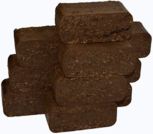 mumba - Probierset Rindenbriketts 30kg Holzbriketts, Holz-Briketts aus Rinde - ideal als Gluthalter