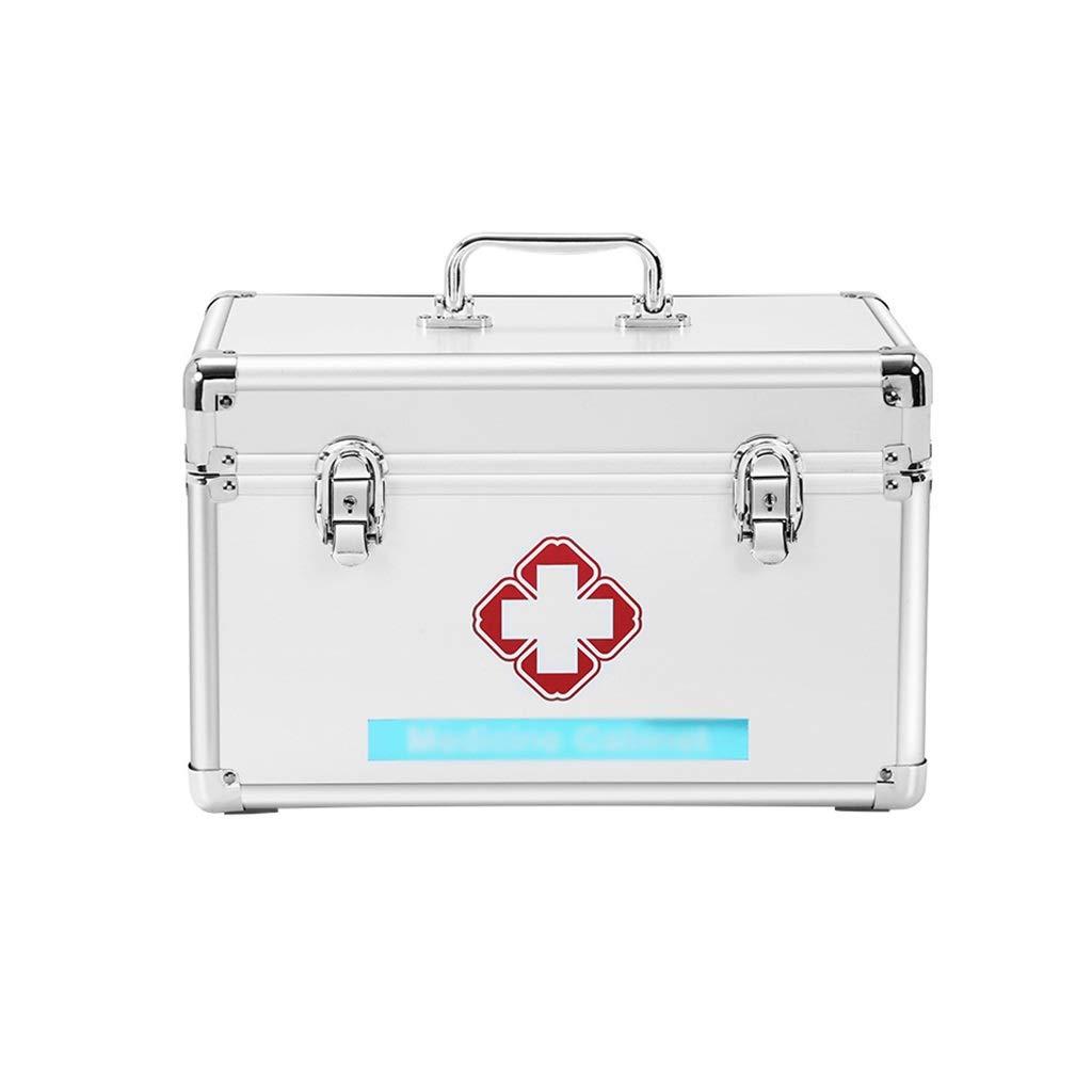 薬品箱家庭用薬品箱救急箱薬品収納箱多層大容量アンチドロップウェアポータブルタイプ (サイズ さいず : 40.5*21.5*23cm) B07PYZ34CV  40.5*21.5*23cm