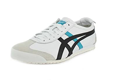 hot sale online eb8a8 5ced9 Amazon.com | Onitsuka Tiger Unisex Mexico 66 White/Black ...